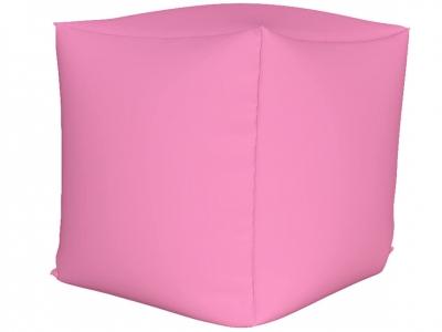 Пуфик Куб мини нейлон розовый