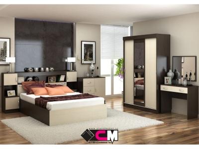 Спальня Бася венге-дуб