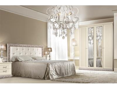 Спальня Тиффани Штрих серебро