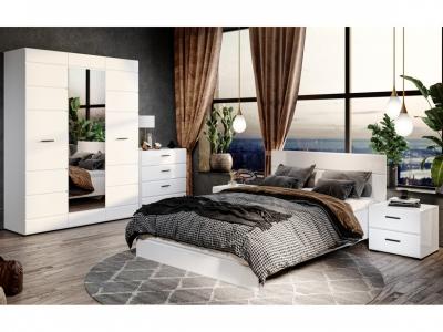 Спальня Йорк Белый жемчуг