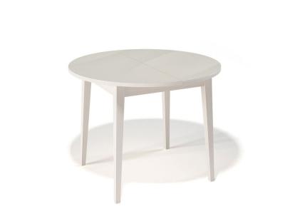 Стол Kenner 1000 M крем/стекло крем