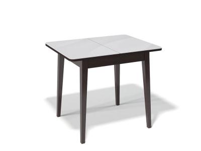 Стол Kenner 900 M венге/стекло белое