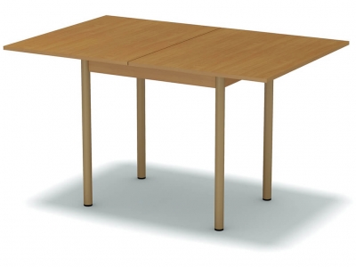 Стол обеденный раскладной Бук Бавария - ноги бежевые