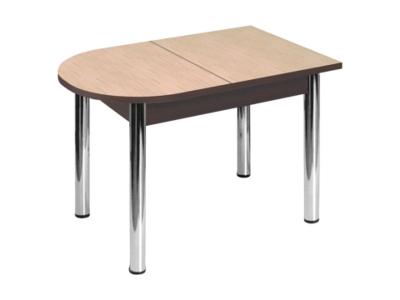 Стол Пристенный без ящика ноги хром