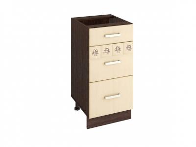 Стол с 3 ящиками - метабоксы 10.59.2 Аврора 400х470х820