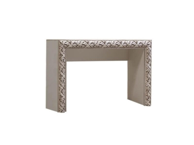 Стол туалетный ТФСТ-1(П) Тиффани Премиум Слоновая кость серебро