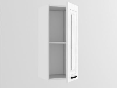 Верхний шкаф В 300 720х300х300 Белый Вегас