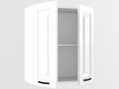 Верхний шкаф В 600 2 двери 720х600х300 Белый Вегас