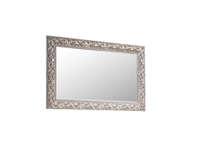 Зеркало ТФ/01 Тиффани Штрих серебро